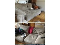 FREE 3 SEATER SOFA AND 2 SEATER SOFA BED. CAN DELIVER LOCALLY TODAY.