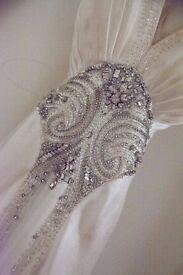 Designer wedding dress - Jenny Packham