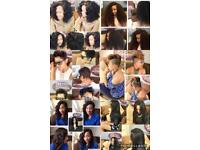 Hairstylist and hair bundles supply call 07401548148