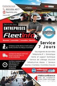 FleetInfo - Service Informatique pour votre entreprise