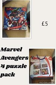 Marvels Avengers 4 Puzzle Pack