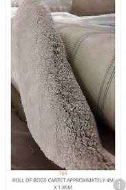 New carpets ideal for small room 13 ft x 5 or 6ft