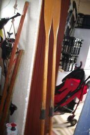 Wood Rowing Oars