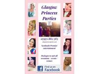 Glasgow princess parties, Belle, Elsa, Frozen, Snow White, Ariel & more DJ kids children's party