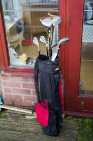 Kids Junior Golf Clubs and Bag