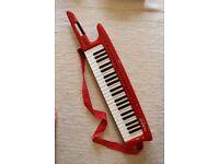 Red MIDI Keytar - Roland AX-1