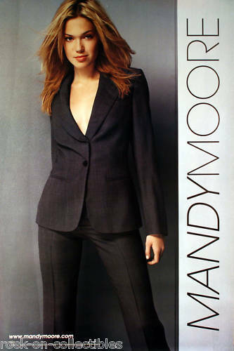 Mandy Moore 2001 Self Titled Original Promo Poster