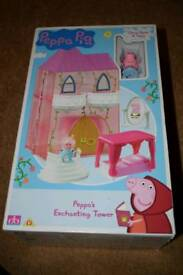 Peppa Pig , Peppa's Enchanting Tower brand new never opened