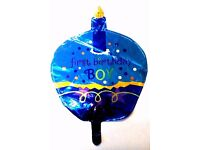 First birthday balloon helium foil boy girl party cake candle