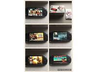 Psp Slim With 1000s Of Games On (retro And Others( See Pics) ,excellent Cond All Boxed
