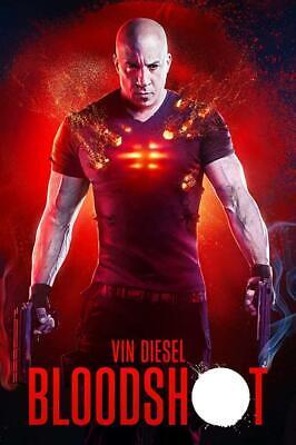 Bloodshot (DVD 2020) Preorder for 5/5-Action/Sci Fi-Stars Vin Diesel-Ships Free!