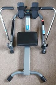 Rowing Machine (dual hydraulic) with Fitness Monitor