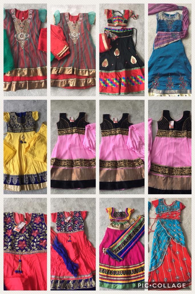 Assorted indian dresses