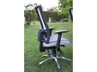 Activ ME500 grey mesh back posture office chair - 9 available
