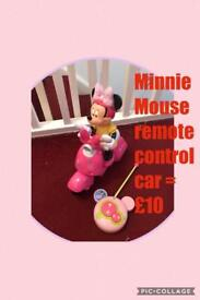 Minnie Mouse remote control