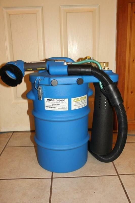 Guardair Pneumatic Personnel Cleaning Station Wet/Dry Vacuum 5.5 gal. NEW