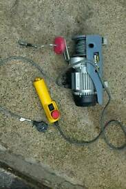 Electronic winch