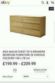 Malm chest of drawer