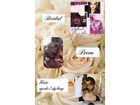 Bridal and Prom Hair styling/updos