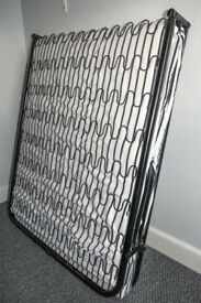 Folding Single Guest Bed with Mattress - never used.