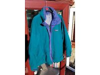 mens Berghaus goretex jacket large size