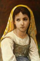 Bouguereau original oil painting