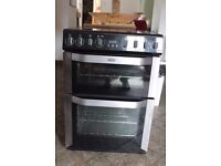 BELLING FSE 60 MFi 60cm wide, multifunction, double oven cooker with induction hob
