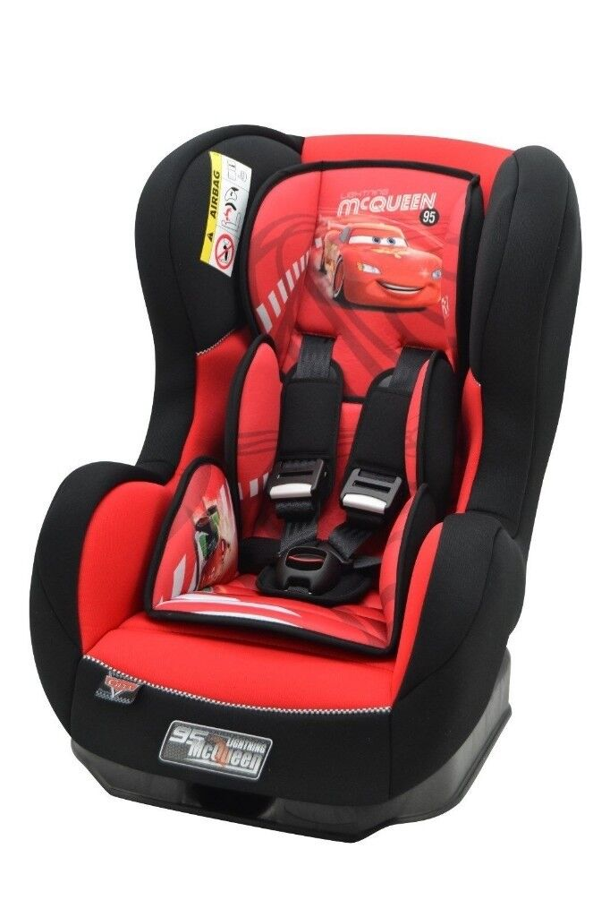 COSMO DISNEY CAR CAR SEAT GROUP 0-1 ( BIRTH TO 4 YEARS) 0-18 KG