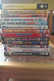 British comedy DVDs. Collection of 13