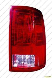 Tail Light Passenger Side [1500 2009-2017] [2500/3500 2010-2017] Bulb Type Without Led Dodge Ram