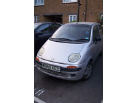Daewoo Matiz SE 800 cc registered 2000