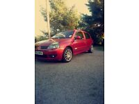 Clio sport 2.0 2002 open to offers