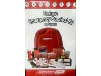 Deluxe Bug Out Bag - Emergency Kit - 2 person - Brand New Sealed in Box! Great for Boot of Car