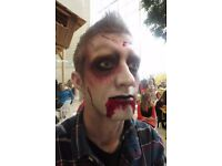 Face painter available for Halloween
