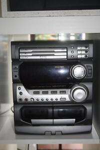 JVC Stereo Unit - MX-D702T WITH REMOTE Concord Canada Bay Area Preview