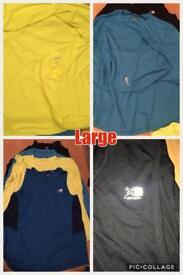 Large bundle of men's clothes