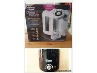 Brand new boxed tommee tippee prefect prep and bottle warmer