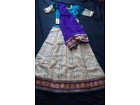 indian wedding lengha dress 3 piece set new with tag £75.00 or make me an offer rrp £120