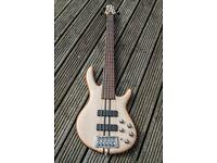 Cort Artisan A5 Active 5-string Bass Guitar - as new