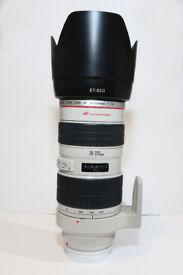 Canon EF 70-200 f2.8 L II