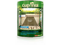 Cuprinol Decking Stain, 5L Country Cedar -NEW