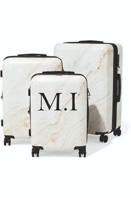 Home Decoration - Personalised Suitcase Vinyl Sticker Initials Name Luggage Decal 0307