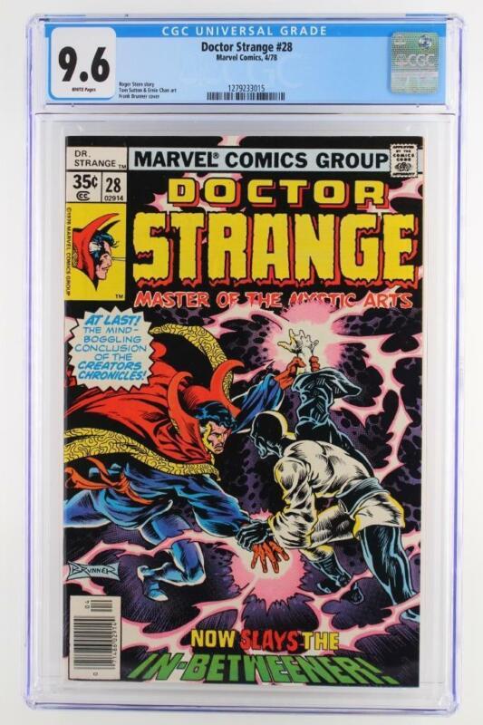 Doctor Strange #28 - CGC 9.6 NM+ MARVEL 1978 - In-Betweener App!!!