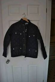 Barbour quilted xxl (14/15) Boys jacket used