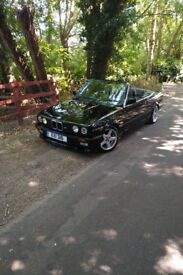 Bmw e30 325I convertible m-tech1