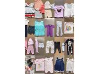 65 Items of 6-9m baby girls items
