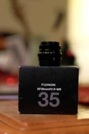 Fujifilm fuji xf 35mm f3 wr