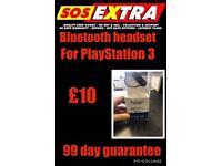 PlayStation three Bluetooth headset