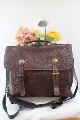 398.00 NWT American West American West Stagecoach Briefcase (500 American West Leather Briefcase