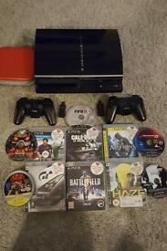 Ps3+11games +2controllers+USB